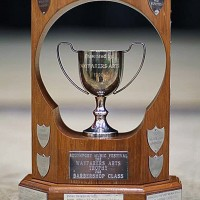 Southport Music Festival Barbershop Trophy